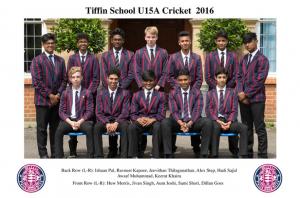 cricket U15 X1